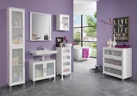 kommode für badezimmer unterschrank florida weiß melamin
