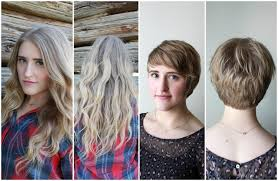 before and after picuters of long to short hair before and after pixie perfect a dash of salter