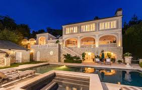 French Chateau Style 14 5 Million French Chateau Style Mansion In Pacific Palisades