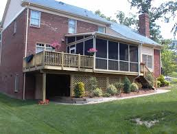 Pictures Of Deck Roofs by Charlotte Nc Designers Choice Com Screen Porches Screen Porch