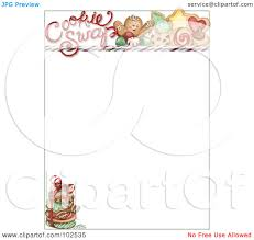 clipart of christmas cookies boarders clipground