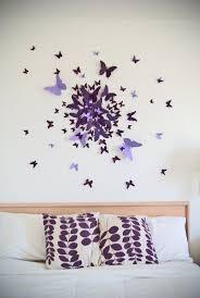 Diy Bedroom Wall Paint Ideas 3d Diy Wall Art Home Design Ideas