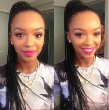mzansi new braid hair stylish local celebs their cornrows