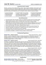 Sample Resume For Client Relationship Management by Free Resume Samples Examples U2013 Cope Career Services