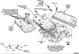 2003 ford explorer intake manifold my 1993 ford explorer has a leaky valve cover gasket on the