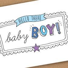 new baby boy card by eskimo designs notonthehighstreet