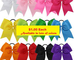 cheap hair bows cheap cheer bows etsy