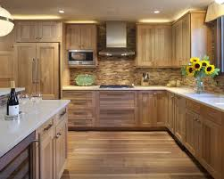 hickory kitchen cabinet design ideas contemporary hickory cabinets contemporary kitchen design