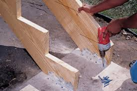 building stairs with a landing the home depot canada
