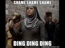 Shame On You Meme - ding ding ding shame shame youtube