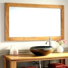Wooden Bathroom Mirror Reclaimed Wood Bathroom Mirror Reclaimed Wood Bathroom Reclaimed