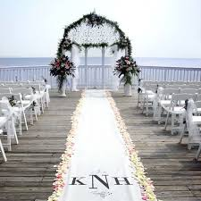 aisle runners for weddings personalized aisle runner wedding aisle runners
