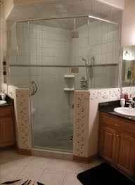 Half Shower Doors Shower Door Half Wall R44 In Modern Home Design Style With Shower