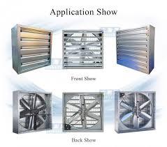 industrial exhaust fan motor belt type 400mm exhaust fan blower fan ventilation fan motor bottom