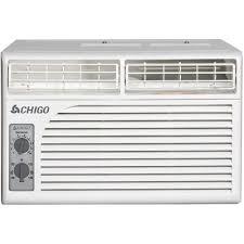 window air conditioner security chigo 5 400 btu window air conditioner with mechanical controls
