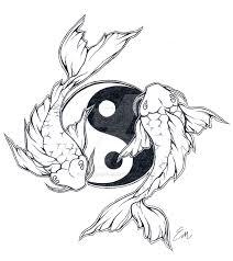 yinyang koi fish design by les belles soeurs on deviantart