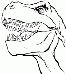kids trex coloring pages coloring home