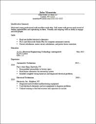 Automotive Technician Resume Sample by Career Services Sample Resumes