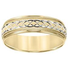 gold mens wedding band s wedding bands groom wedding rings shop the best deals