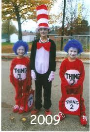 2 Halloween Costume Dr Seuss 1 2 Costumes Costume Pop