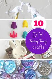 10 teeny tiny totally cool crafts