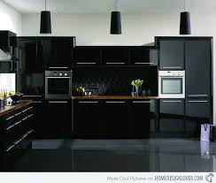 how to clean black gloss kitchen cupboards 15 astonishing black kitchen cabinets home design lover