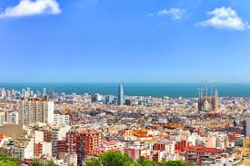 barcelona city view top views in spain budgetair co uk blog