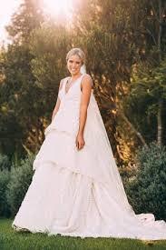 australian wedding dress designer sylvia jeffreys s wedding dress designer vallance on how