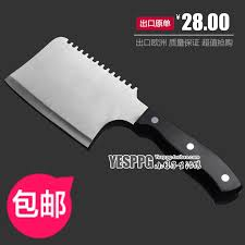 new arrival high quality kitchen knife stainless steel chop bone