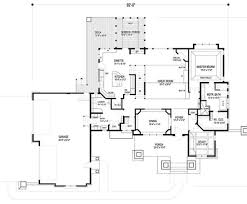 craftsman style house plan 5 beds 4 baths 5077 sq ft plan 56