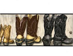 country western theme cowboy cowgirl boots saddle up wallpaper