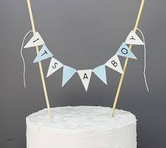 cake topper banner baby shower cakes best of baby shower cake toppers for boy baby