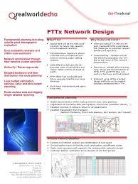understanding home network design rwe fttx design fiber to the x telecommunications