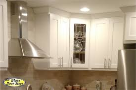 Wall Cabinets With Glass Doors - Glass door kitchen wall cabinet