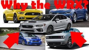 sporty subaru wrx why i chose the 2017 subaru wrx over other