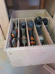 adjustable drawer for tools in garage would love this in other