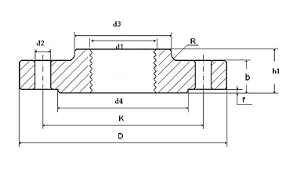 Threaded Blind Flange En 1092 1 Pn6 Threaded Flange Manufacturer In India En 1092 1 Pn6