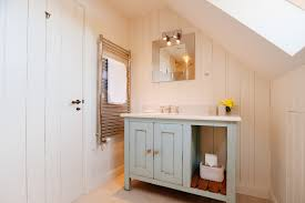 Tongue And Groove In Bathrooms White Tongue And Groove Bathroom Cabinet With Beach Style Family