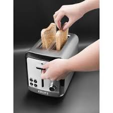 Extreme Toaster Krups Savoy 2 Slice Stainless Toaster Kh311050 The Home Depot