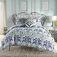 Twin Extra Long Comforter Amazon Com Anthology Joli Twin Xl Comforter Set Mint Blue Home