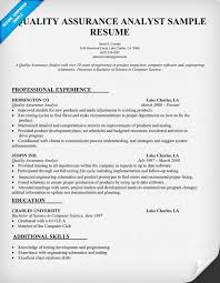Sample Correctional Officer Resume by 12 Quality Assurance Tester Resume Riez Sample Resumes Riez