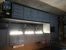 Garage Kitchen Cabinets Refurbished Kitchen Cabinets For The Ultimate Work Bench Garage