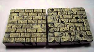 Painting A Wall To Look Like Brick Enhance Your Diorama Painting Tutorial Sandstone Bricks Youtube