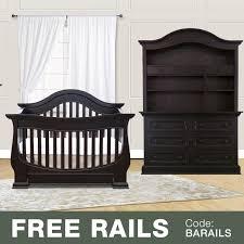 convertible crib and dresser set 100 munire dresser with hutch westwood pine ridge 3 piece
