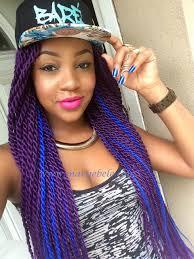 modern hairsyyles in senegal senegalese twists purple blue braids twists dreds pinterest