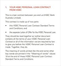 simple loan contract loan contract template 26 examples in word