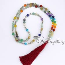 wholesale beaded necklace images 7 chakra jewelry meditation beads prayer bead store tassel jpg