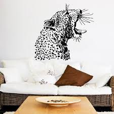 popular jungle wall murals buy cheap jungle wall murals lots from angry cheetah head pattern art wall murals home livingroom special jungle aniamls series decorative vinyl wall