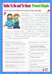 english worksheet verb u201cto have got u201d affirmative negative and