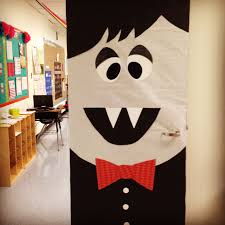 halloween frankenstein classroom door decoration kindergarten